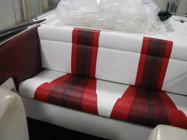 Red insert bench